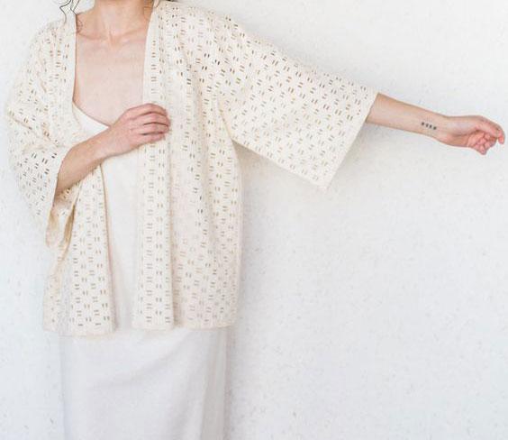 Áo khoác kimono – Sự kết hợp hoàn hảo giữa truyền thống và hiện đại