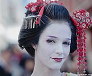 """Sayuki - Geisha """"mắt xanh"""" đầu tiên của Nhật Bản"""